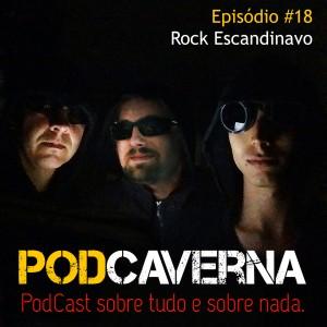 Capa Podcaverna - Episódio 18: Rock Escandinavo
