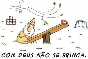 Com Deus não se brinca - Carlos Ruas