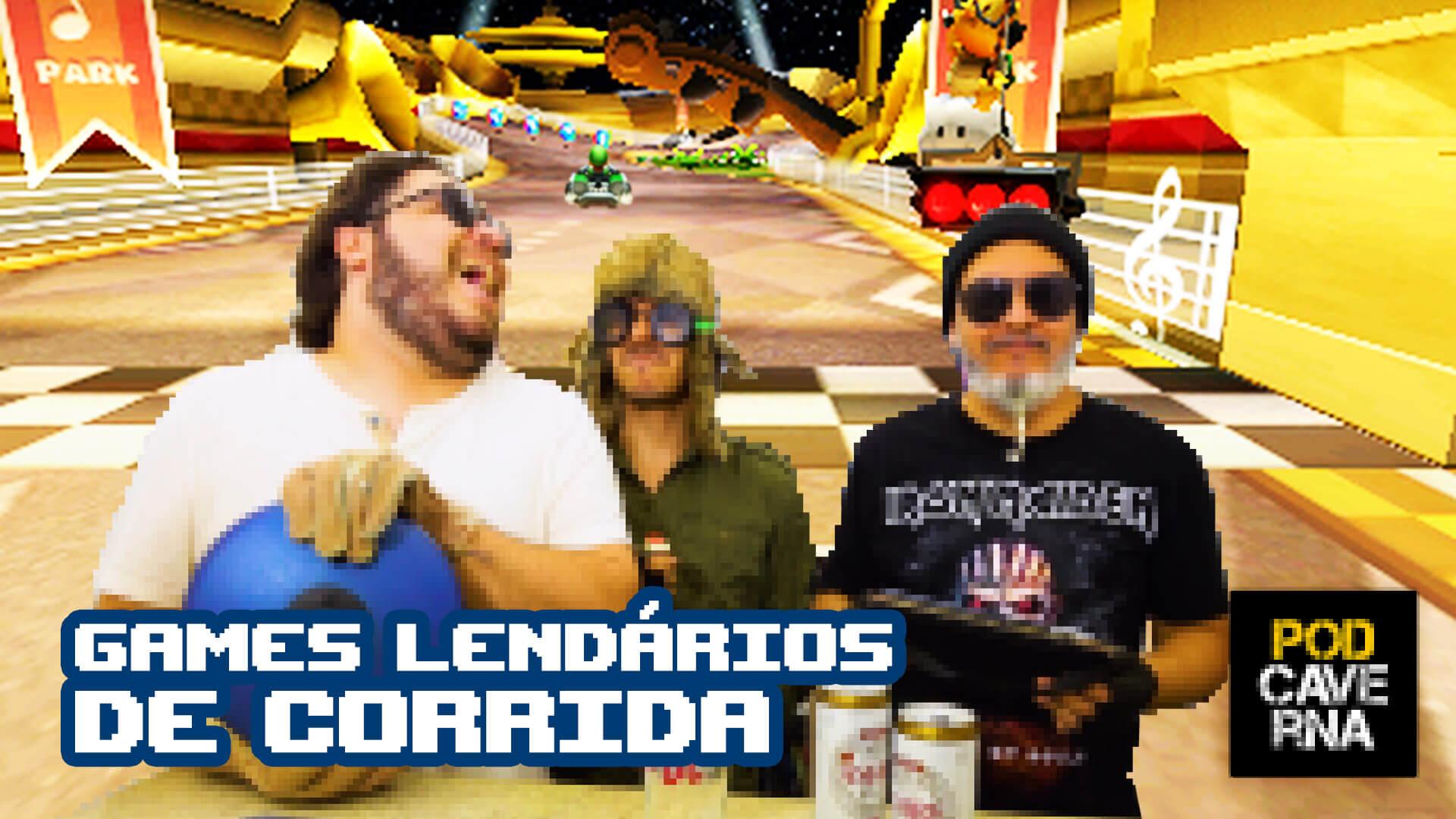 Games Lendários de Corrida
