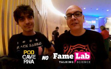 PodCaverna no FameLab Brasil 2018