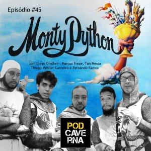 PodCaverna - Monty Python com Thiago Meister Carneiro