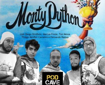 PodCaverna – Monty Python com Thiago Meister Carneiro