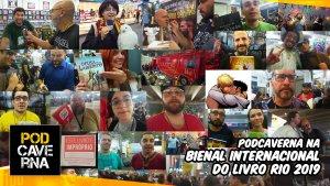 PodCaverna na Bienal Internacional do Livro Rio 2019