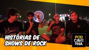 Histórias de Shows de Rock