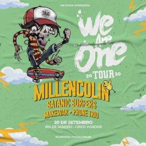 Festival We Are One no RJ, com Millencolin e Satanic Surfers, é reagendado para 2021