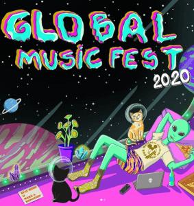 Global Music Fest 2020, online e beneficente, terá 20 bandas de 8 países