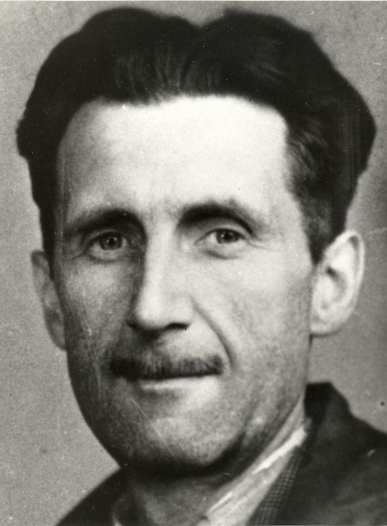 George Orwell - Foto clássica do autor.