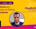 Iniciativas para combater os efeitos da pandemia com Claudio Daniel | Live | 19/05/2020 | PodCaverna