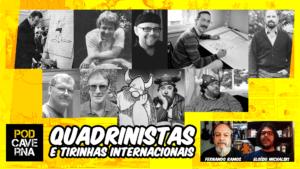 Quadrinistas e tirinhas de jornal internacionais