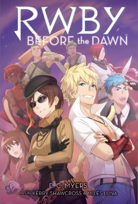RWBY_Before_The_Dawn_cover