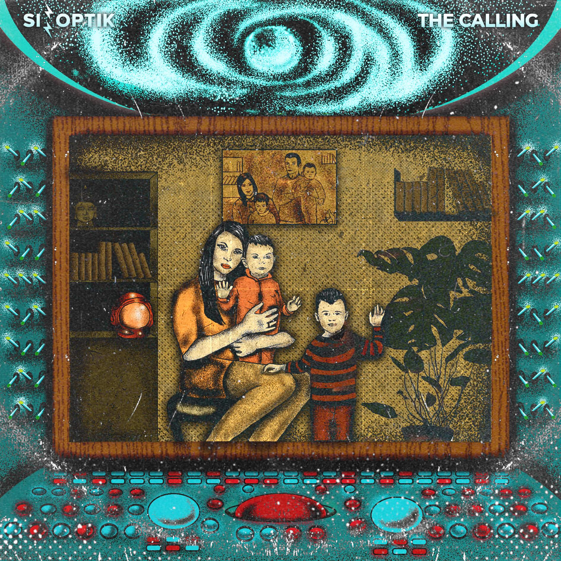 Capa do álbum The Calling, da banda ucraniana Sinoptik